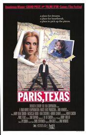 1984 - Paris, Texas Movie Poster