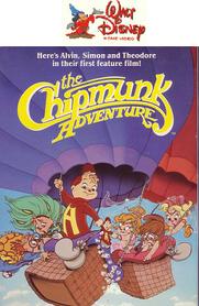 The Chipmunk Adventure 1985 VHS