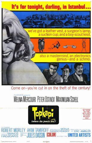 File:1964 - Topkapi Movie Poster.jpg