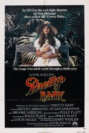 1978 - Pretty Baby Movie Poster