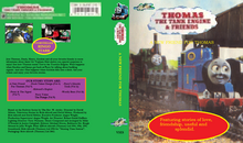 A New Friend For Thomas VHS Cover