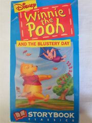 Winnie the Pooh and the Blustery Day VHS