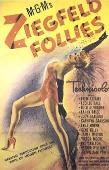 Ziegfeld Follies (1945) Movie Poster