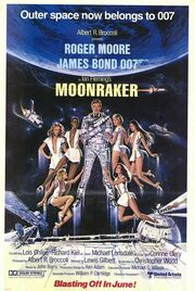 1979 - Moonraker Movie Poster