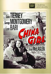 1942 - China Girl DVD Cover (2012 Fox Cinema Archives)