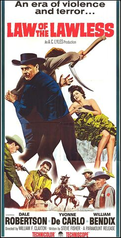 File:1964 - Law of the Lawless Movie Poster.jpg