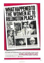 1971 - 10 Rillington Place Movie Poster
