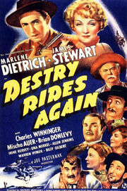 1939 - Destry Rides Again Movie Poster