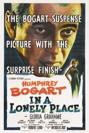 1950 - In a Lonely Place Movie Poster
