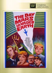 1963 - The Day Mars Invaded Earth DVD Cover (2015 Fox Cinema Archives)