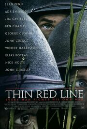 1998 - The Thin Red Line Movie Poster