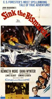 1960 - Sink the Bismarck Movie Poster