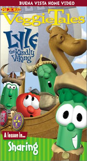 VeggieTales - Lyle the Kindly Viking 1997 VHS Cover (BHVH Version)