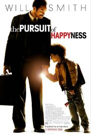 2006 - The Pursuit of Happyness Movie Poster