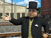 Fat controller talking