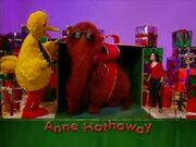 Anne Hathaway from Elmos Christmas Countdown Preview