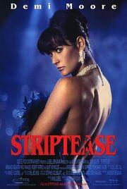 1996 - Striptease Movie Poster