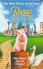 Babe ii pig in the city vhs