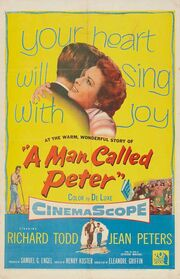 1955 - A Man Called Peter Movie Poster