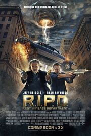 2013 - RIPD Movie Poster