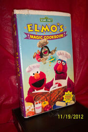 Elmos Magic Cookbook 2001 VHS