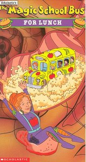 The Magic School Bus For Lunch VHS