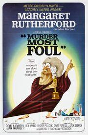 1964 - Murder Must Foul Movie Poster