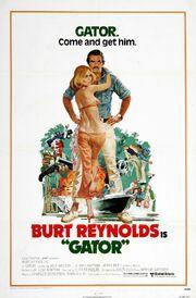 1976 - Gator Movie Poster