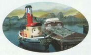 Pearl the Oyster Barge