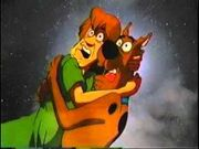 Scooby-Doo and Shaggy scared