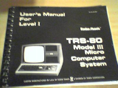 26-1061 related--Model 3 Level 1 User Manual