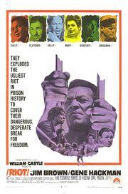 1969 - Riot Movie Poster