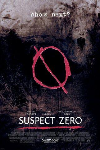 File:2004 - Suspect Zero Movie Poster.jpg