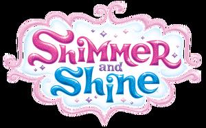 Nickelodeon Shimmer and Shine Logo Original