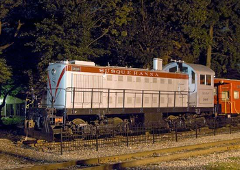 Maywood Station Museum - NYS&W S-2 -206