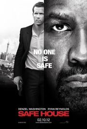 2012 - Safe House Movie Poster