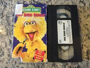 Big Bird Sings 1995 VHS