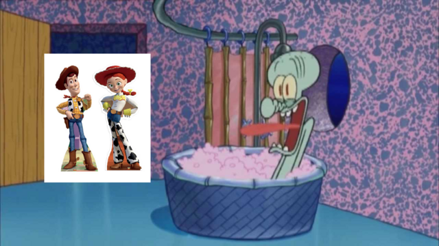 File:Woody And Jessie Stops By And Squidward Screams.png