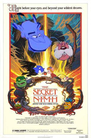 The Secret of NIMH (Disney and Sega Animal Style) Poster