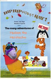 The Many Adventures of Hudson the Horstachio Poster