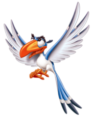 Zazu, The Lion King (2)