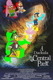 A Duckula in Central Park poster