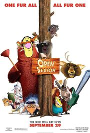 Open Season (Disney and Sega Version) Poster