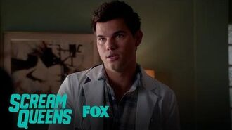 Dr. Cassidy Cascade Questions The Accent Shifting Patient Season 2 Ep. 5 SCREAM QUEENS