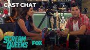 Lea Michele & Taylor Lautner Talk About Twilight In The Fox Lounge Season 2 SCREAM QUEENS