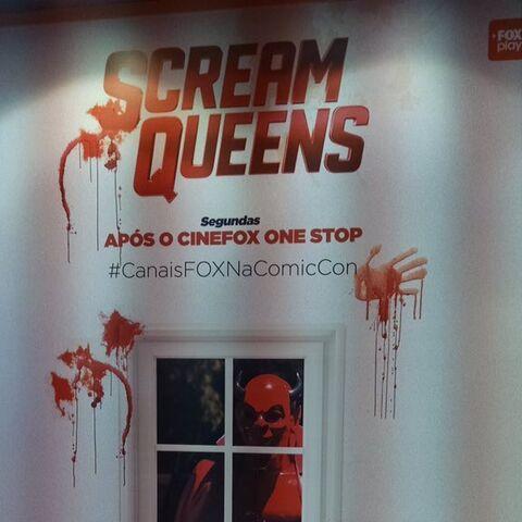 Scream Queens at Brazil Comic Con (Season 1)