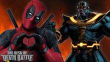 Deadpool Thanos Death=TotalLove