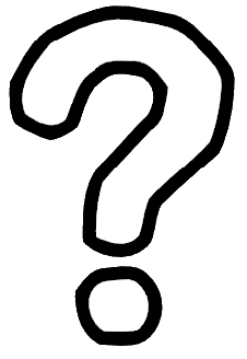 Question Mark Clip Art Black And White Png Image - Question Mark....