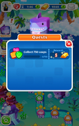 Quests Collect 750 soaps