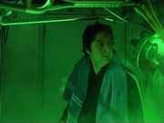 5x7 JD in green closet